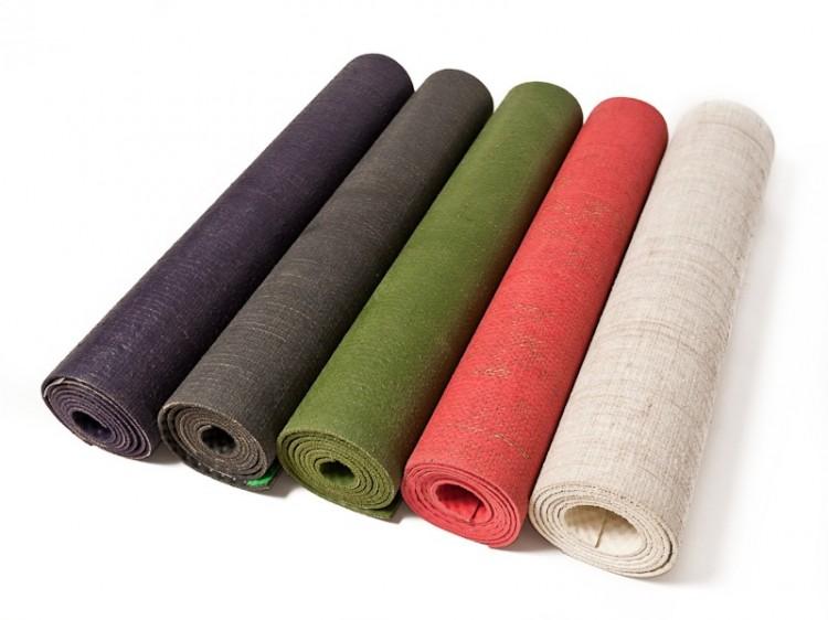 jutové podložky na jógu yogashop