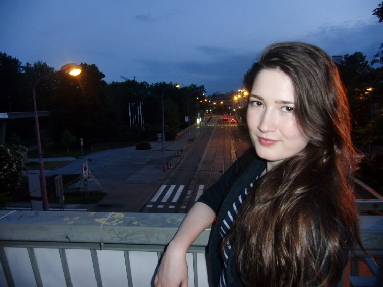 fotka noční Olomouc - Kristýna Kubátová