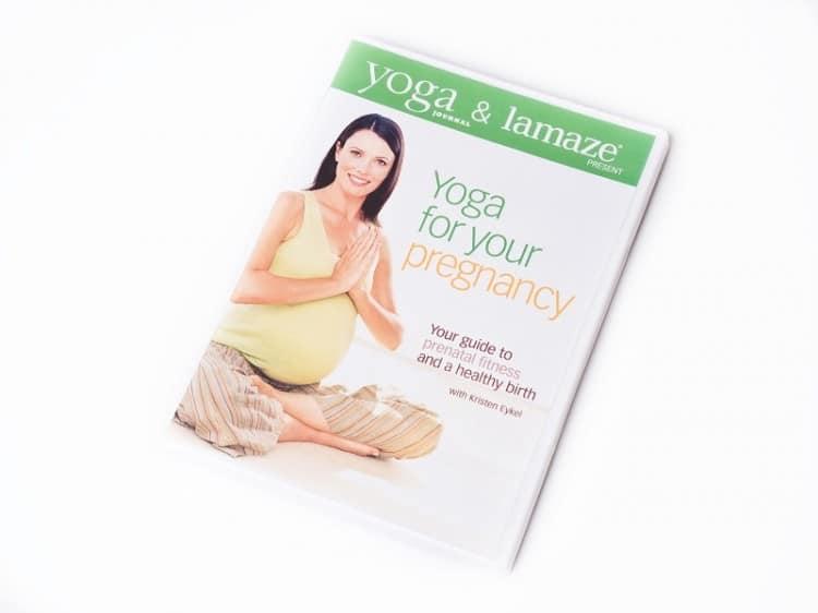 DVD s jógou pro těhotné