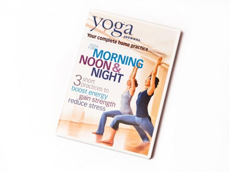 Jóga DVD pro ránní, odpolední a večerní cvičení