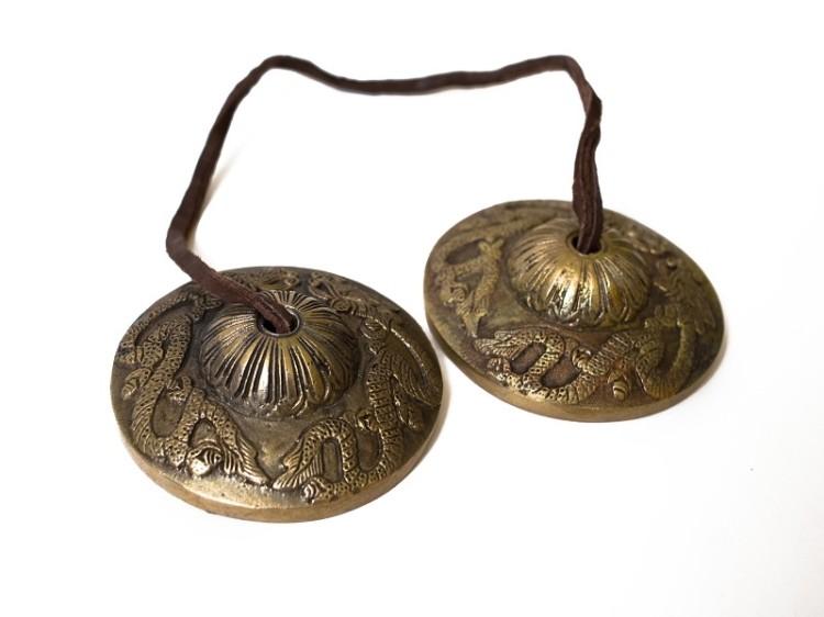 Bronzové činelky Tingsha