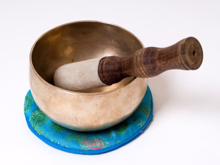 Malá dekorační tibetská miska