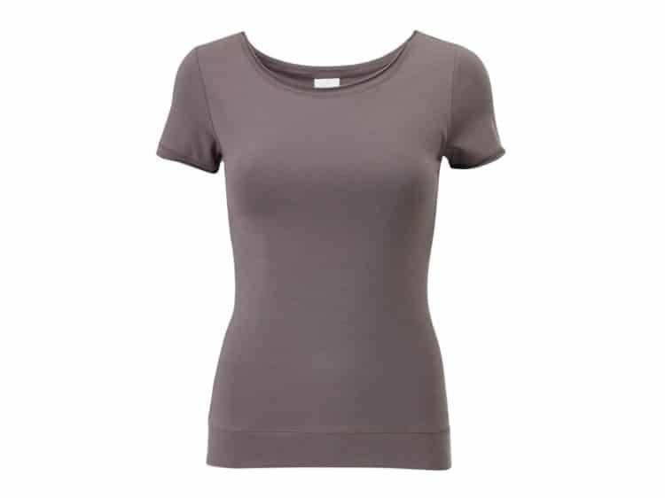 Klasické šedé tričko na jógu Yogashop