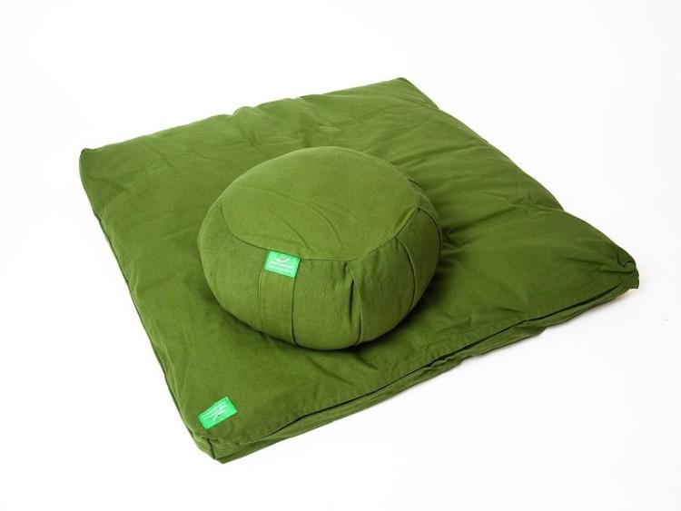 Zelená sada na meditaci