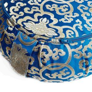 Meditační polštář tmavě modrý