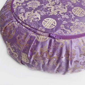 Fialový meditační polštář