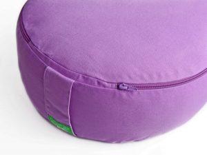 Meditační polštář fialový