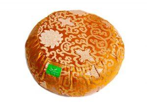 Oranžový meditační polštář