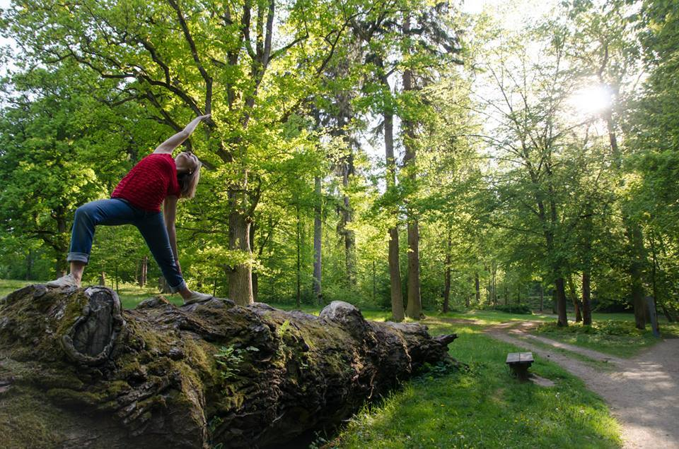 pozice bojovníka v parku, Elena Pacholetová