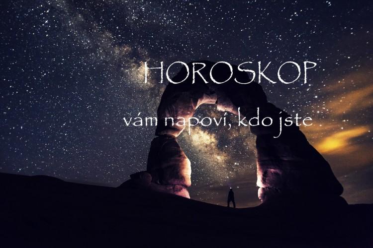 horoskop, noční obloha