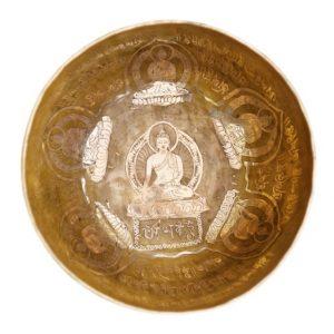 Tibetská miska Buddha 2