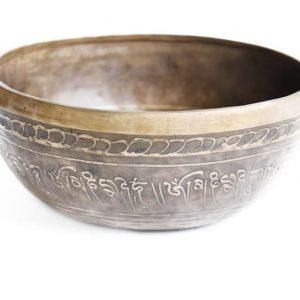 Tibetská miska leptaná 3