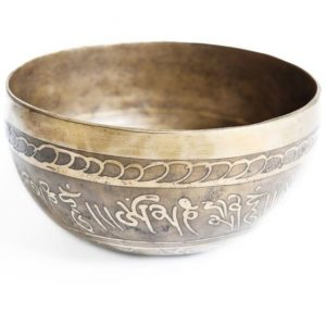 Tibetská miska leptaná
