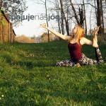 Cvičení jógy na Pankráci zdarma se Zuzkou Královou