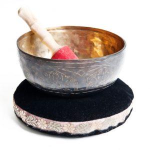 Tibetská miska gravírovaná 3