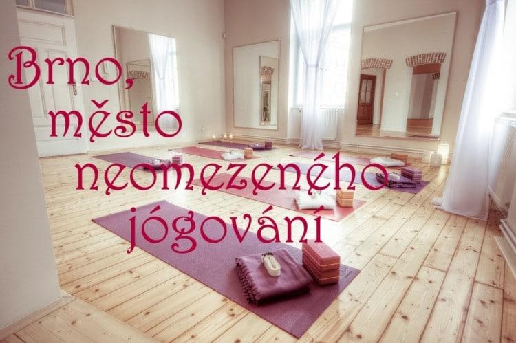 Jóga v Brně podruhé – zkuste něco nového!