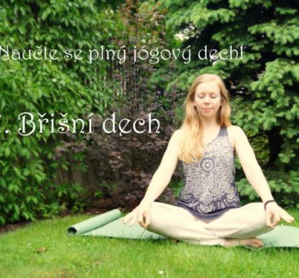 Naučte se dýchat správně při józe i v životě