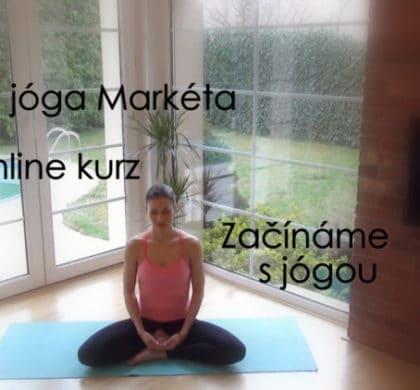 Začněte s jógou s Markétou – online kurz pro začátečníky