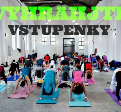 Exkluzivní soutěž o 2 x GOLD pass v hodnotě 4700 Kč na YOGA & DANCE Spring festival v Ostravě