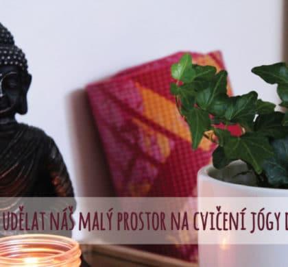 Meditační oáza klidu – jak si udělat malý prostor na cvičení jógy doma