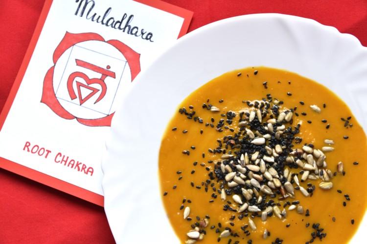 Mrkvovo-batátová polévka