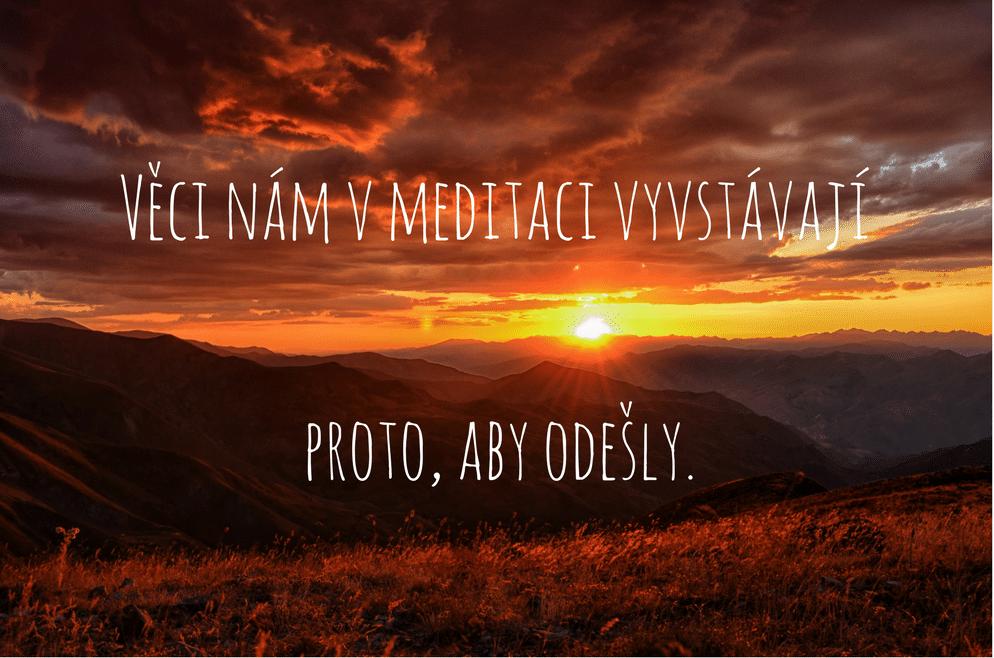 západ slunce, příroda, hory
