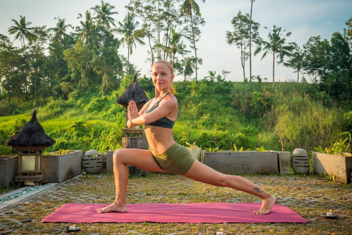 Jóga na Bali