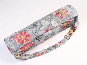 Šedivý batikovaný vak na jógu