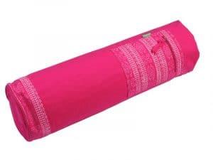 Růžový vak na jógu