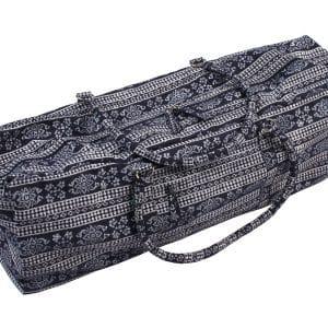 Modrá taška na jógu