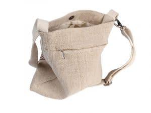 Jutová taška na jógu