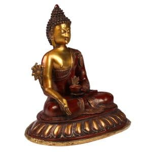 Soška sedícího Buddhy