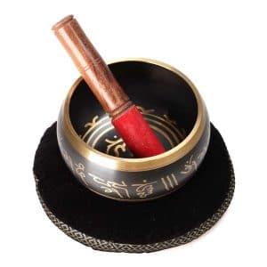 Černá tibetská mísa