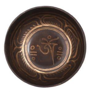 Tibetská mísa černá