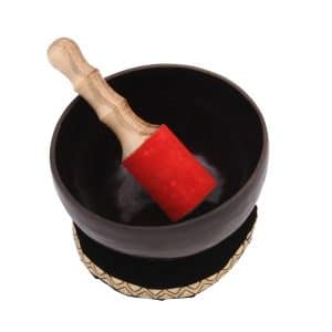 Tibetská miska černá