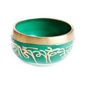 Tibetská mísa zelená