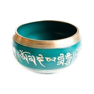 Zelená tibetská mísa