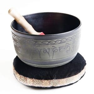 Tibetská miska aluminiová