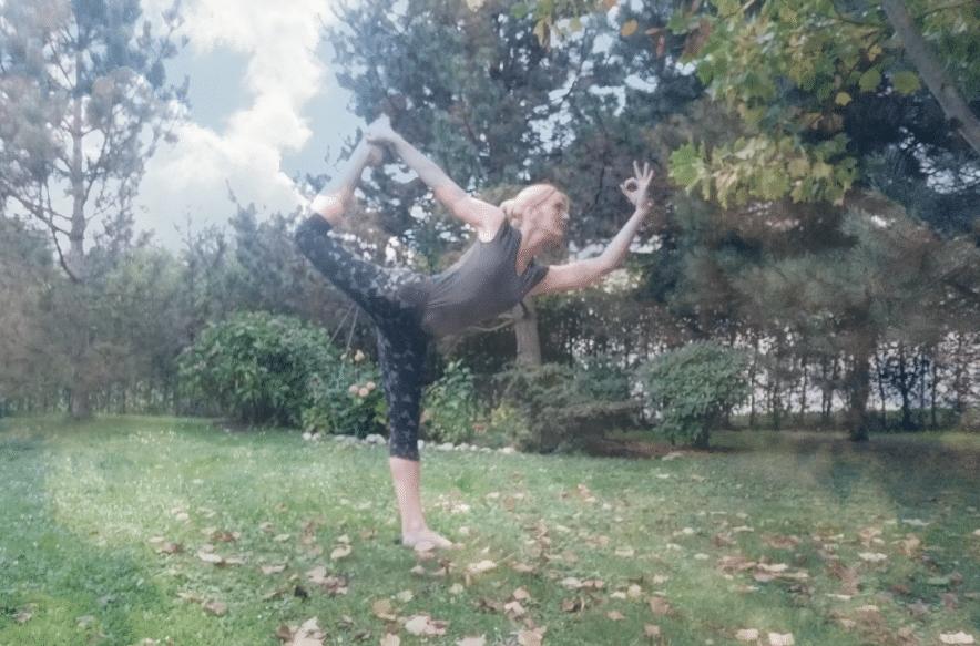vrkšásana, pozice tanečníka