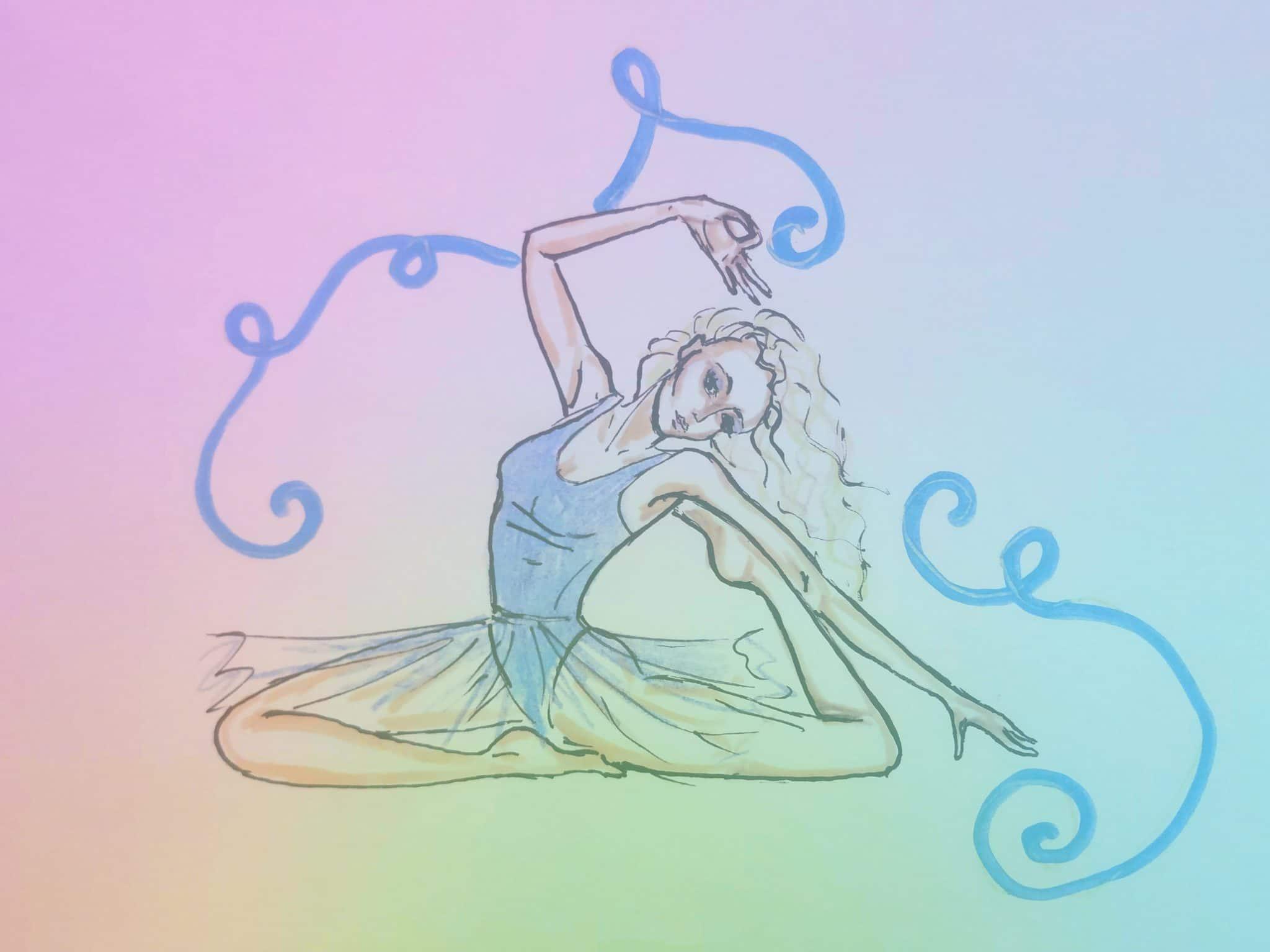dance jóga, obrázek 3, typy jógy, pokus 2