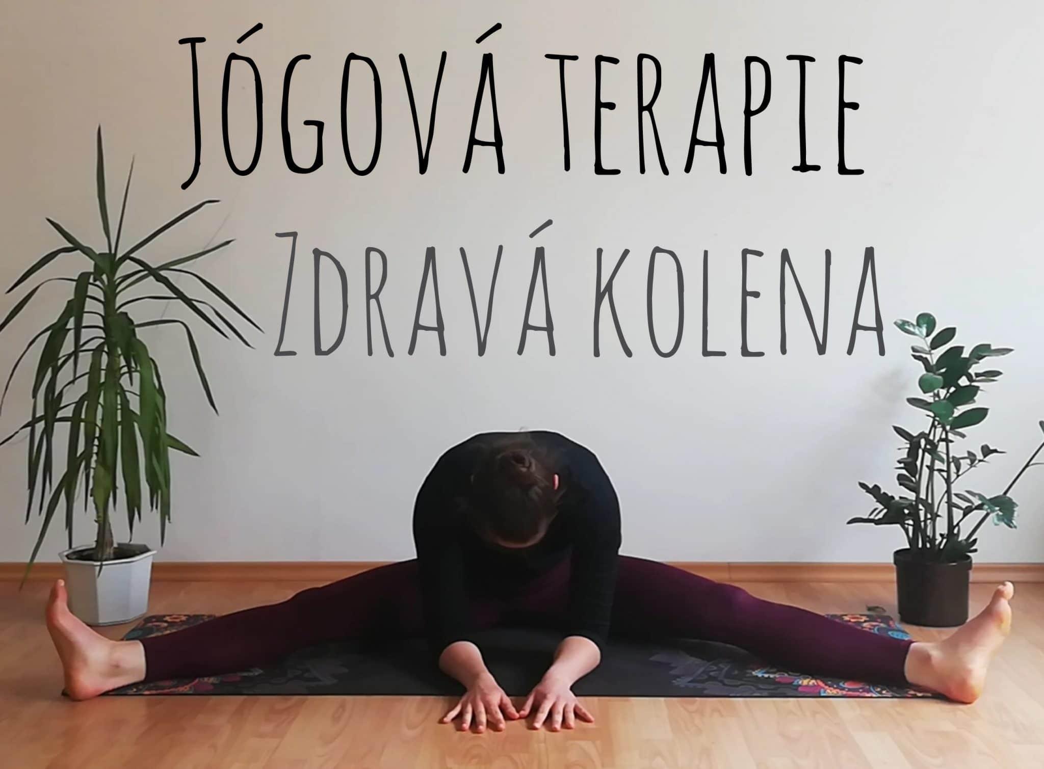 Jógová terapie - zdravá kolena